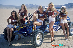 The woman of the Mint 400 in Vegas.